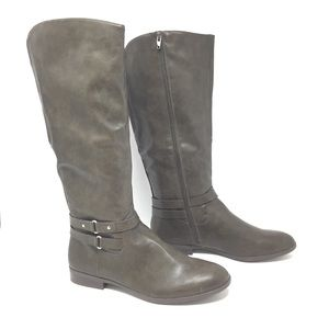 NIB Style & Co Tall Olive Riding Boots Size 9.5